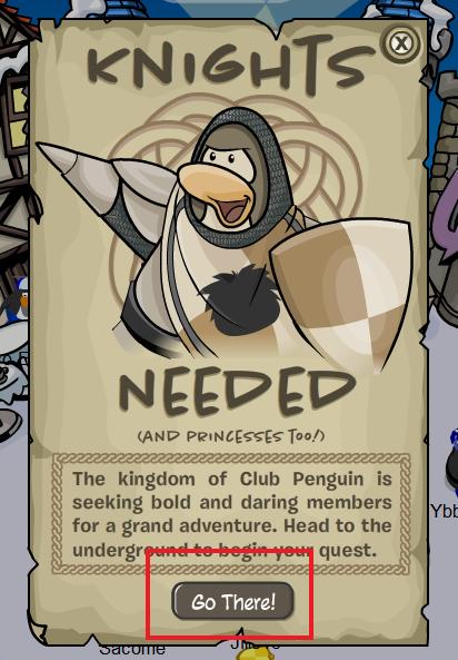 knights needed