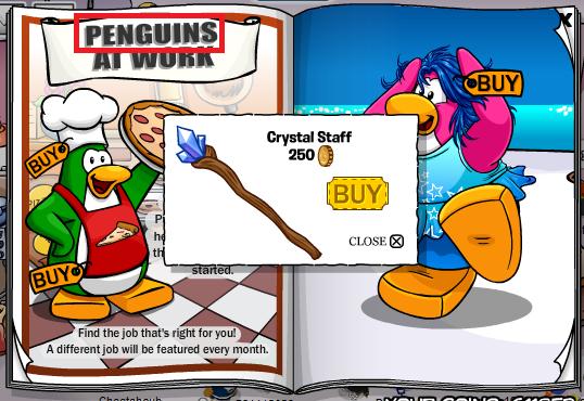 penguins at work