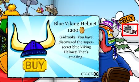 Dojo for viking helmet blue