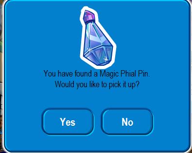 Getting pin